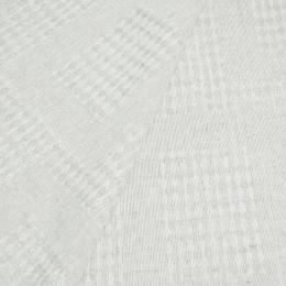 Drapery, Plaid Linen Fabric 18C38