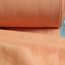 Wide Linen Fabric Stone Washed 255 cm