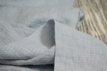 Linen Towel, Plaid Fabric Stone Washed 17C385